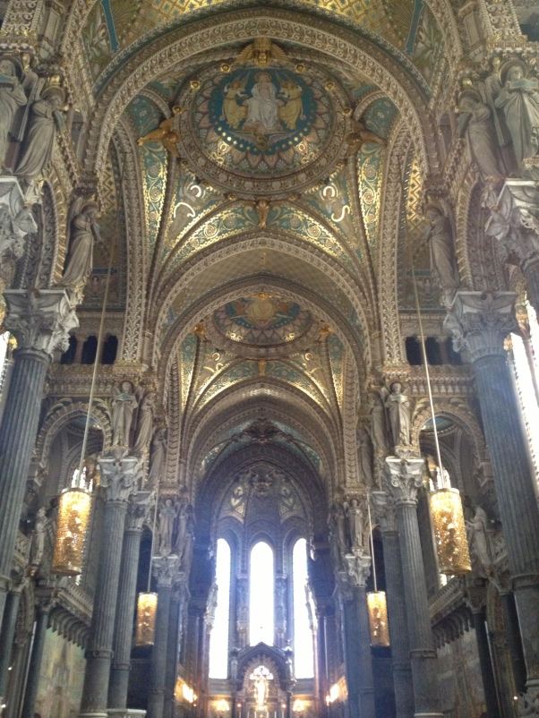 Inside of Fourvière