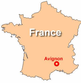 Avignon France Map AVIGNON FRANCE MAP   Recana Masana Avignon France Map