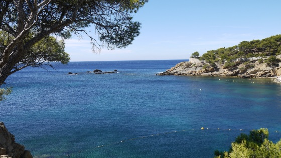 Views over the Calanques of Méjean