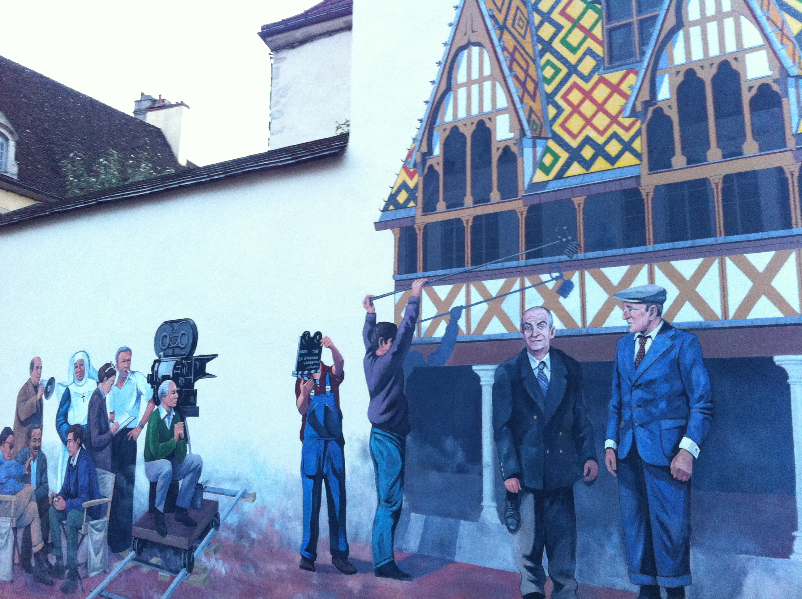 Beaune beztravel for Mural film